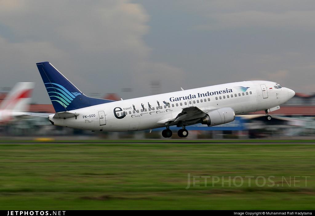 PK-GGG - Boeing 737-3U3 - Garuda Indonesia