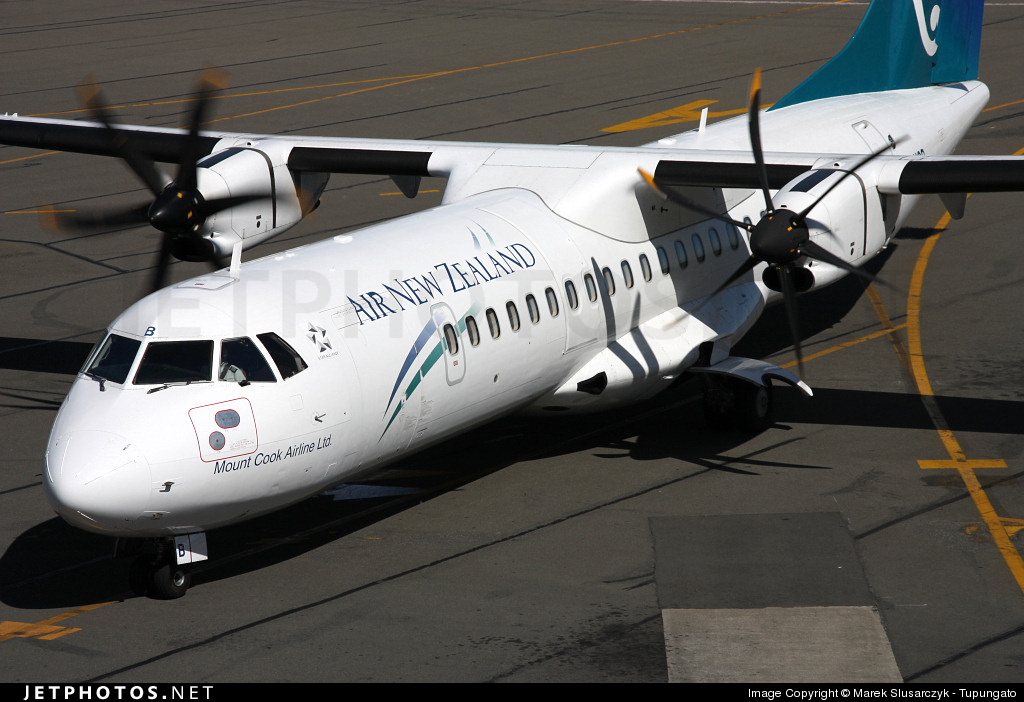 ZK-MCB - ATR 72-212A(500) - Air New Zealand Link (Mount Cook Airline)