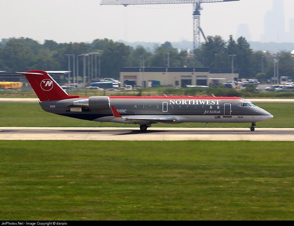 N8688C - Bombardier CRJ-200ER - Northwest Jet Airlink (Pinnacle Airlines)