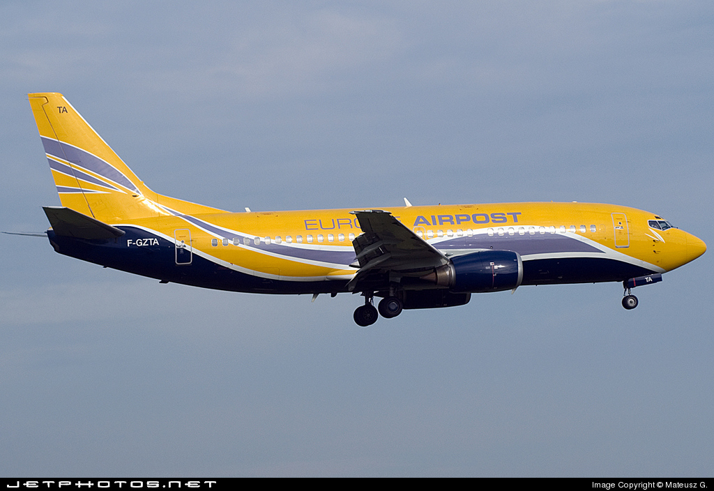 F-GZTA - Boeing 737-33V(QC)  - Europe Airpost