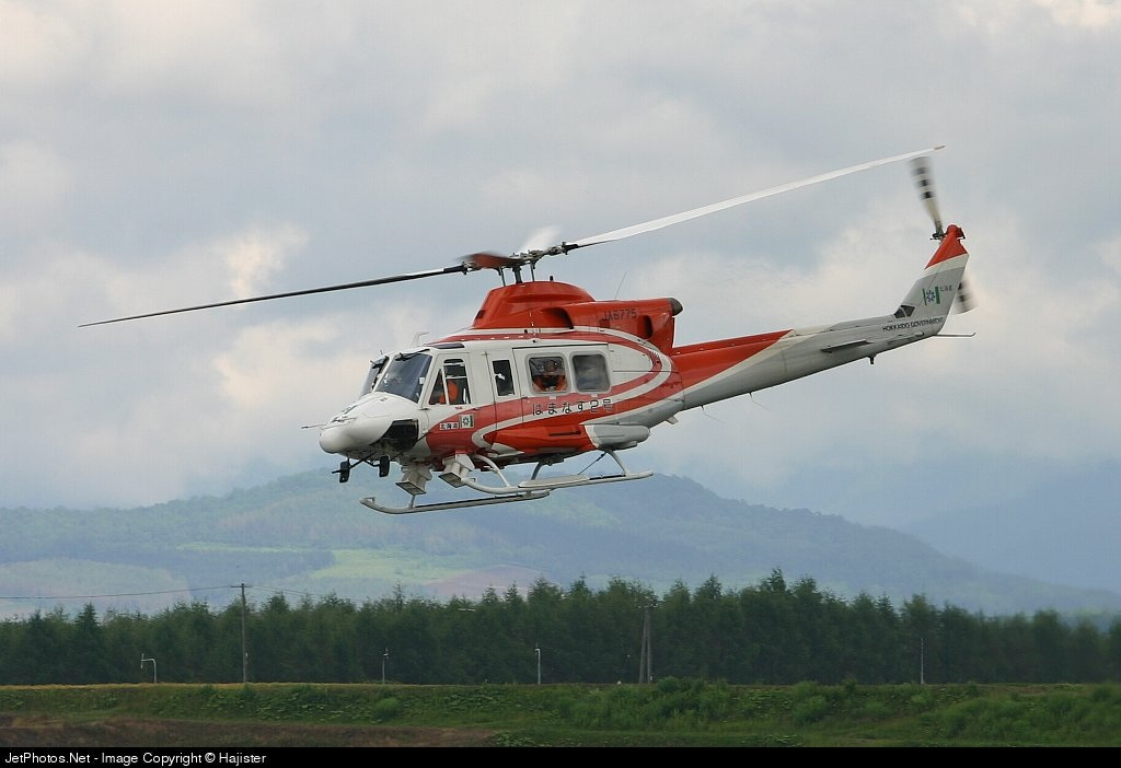 JA6775 - Bell 412 - Japan - Hokkaido Prefectural Government