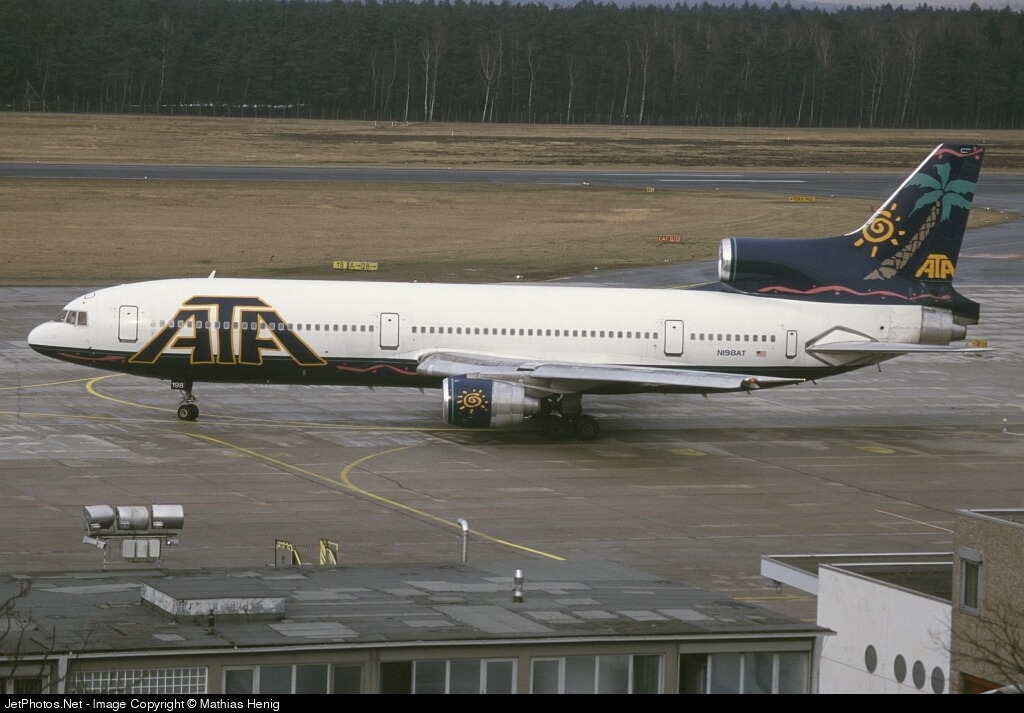 N198AT - Lockheed L-1011-100 Tristar - American Trans Air (ATA)