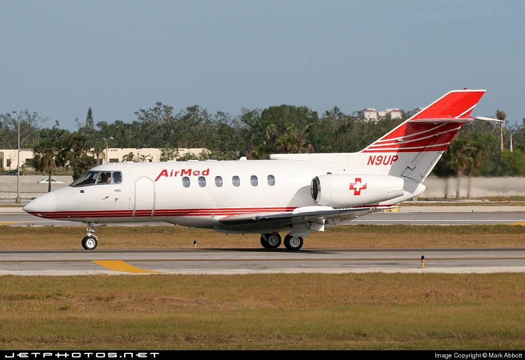 N9UP - British Aerospace BAe 125-800A - AirMed International
