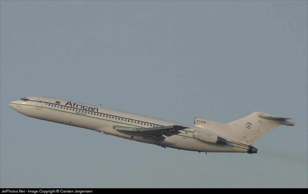 5Y-AXB - Boeing 727-231 - African Express Airways