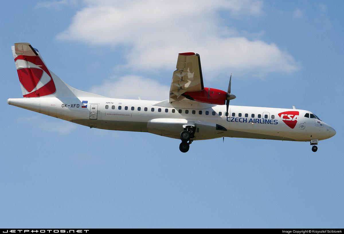 OK-XFD - ATR 72-202 - CSA Czech Airlines