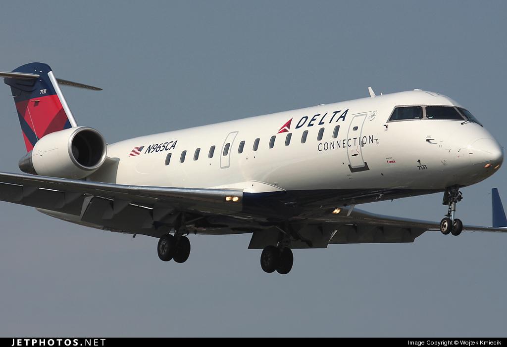 N965CA - Bombardier CRJ-100ER - Delta Connection (Comair)