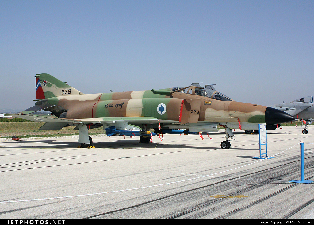 579 - McDonnell Douglas F-4E Kurnass - Israel - Air Force