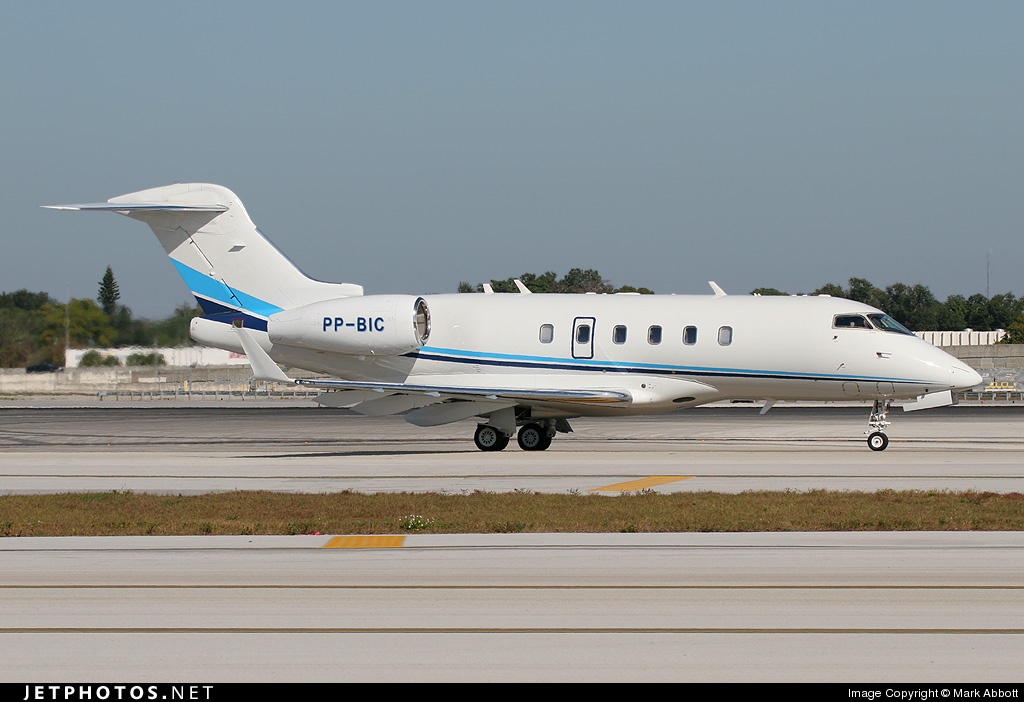 PP-BIC - Bombardier BD-100-1A10 Challenger 300 - Private