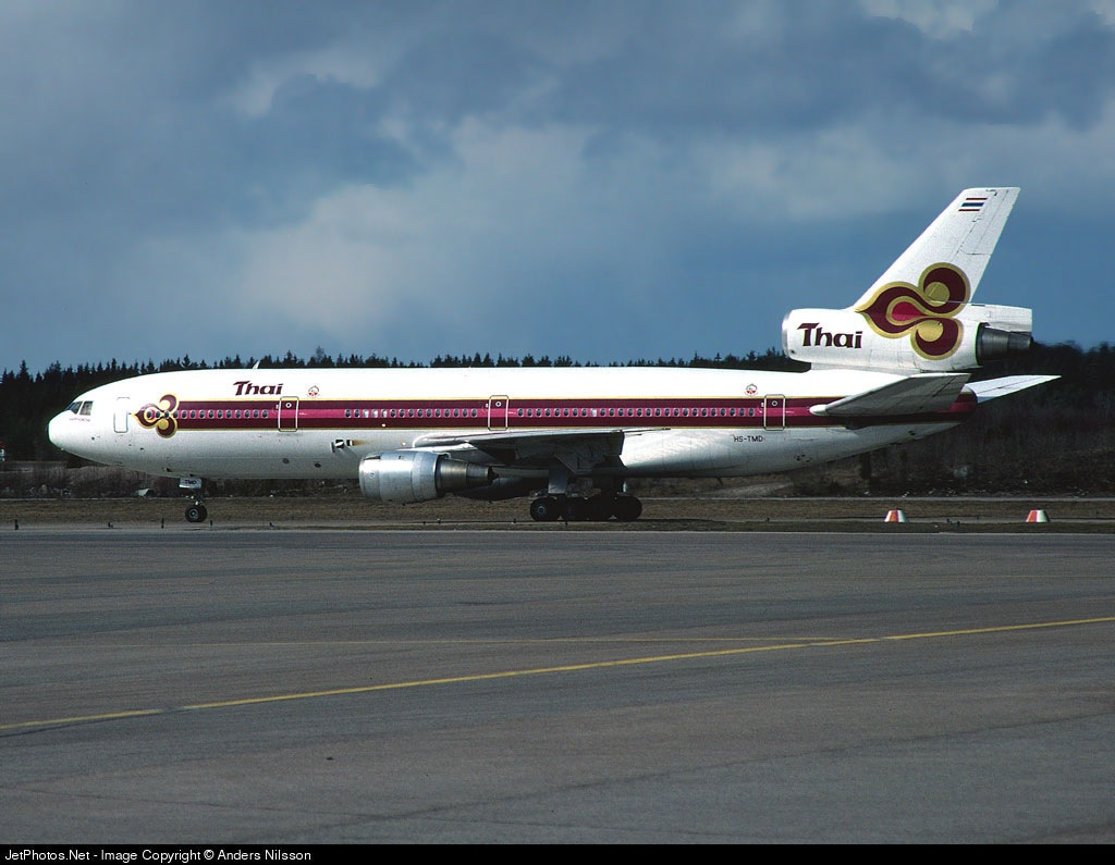HS-TMD - McDonnell Douglas DC-10-30 - Thai Airways International
