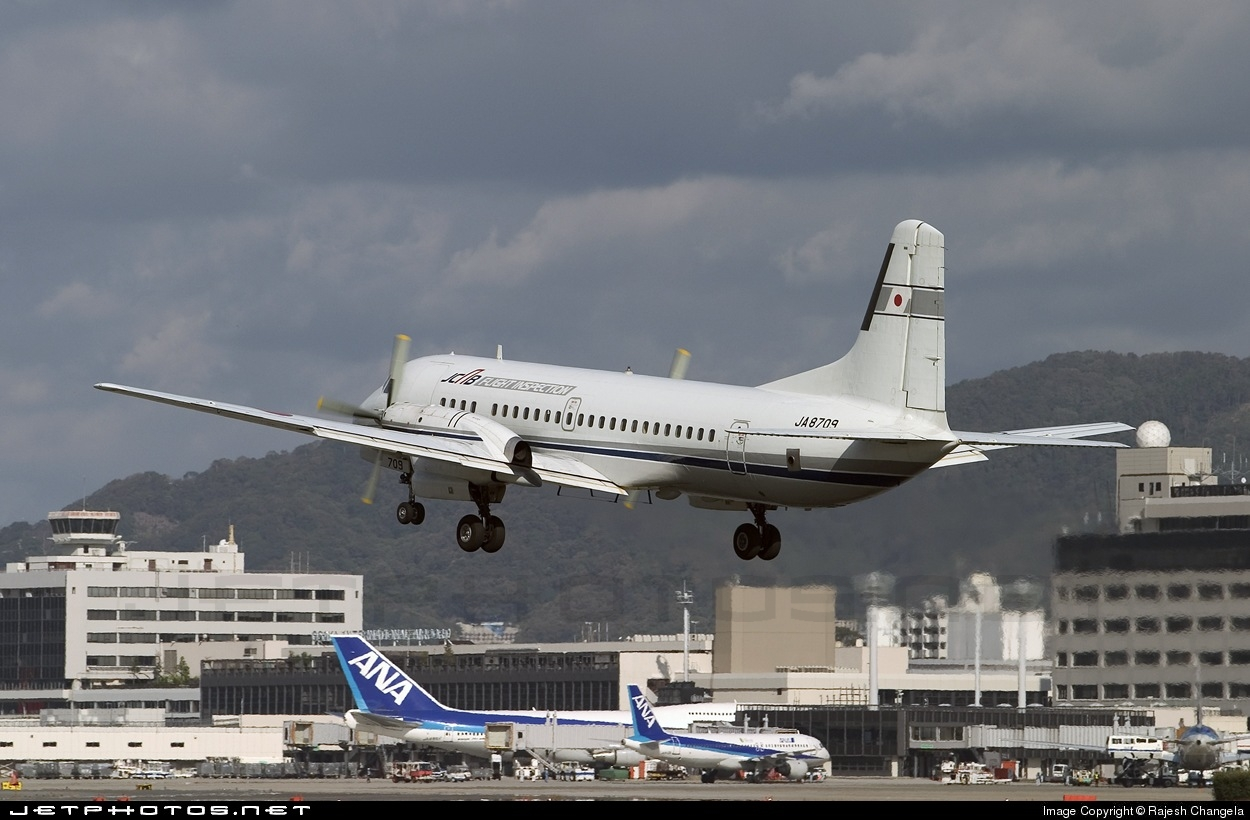 ja8709 namc ys 11a japan civil aviation bureau rajesh changela jetphotos. Black Bedroom Furniture Sets. Home Design Ideas