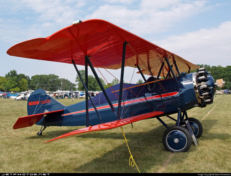 NC6106 - Curtiss-Wright Travel Air 4000 - Private