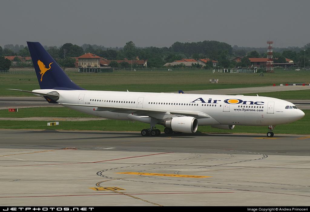 EI-DIR - Airbus A330-202 - Air One