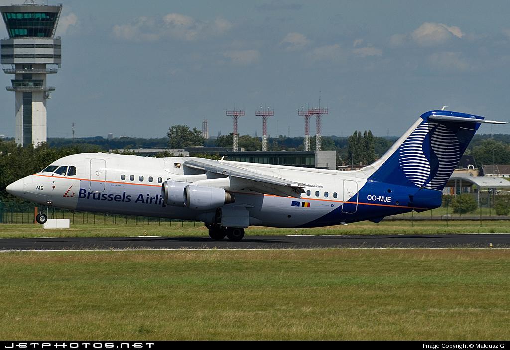 OO-MJE - British Aerospace BAe 146-200 - Brussels Airlines