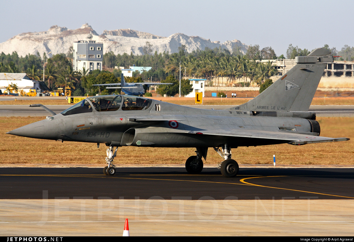 311 - Dassault Rafale B - France - Air Force