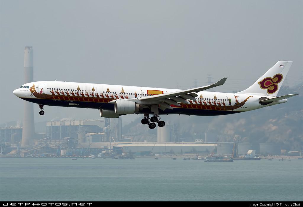 HS-TEK - Airbus A330-322 - Thai Airways International