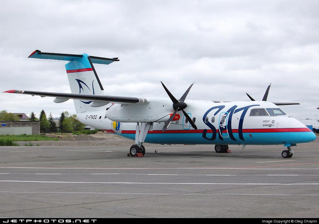C-FNOQ - Bombardier Dash 8-Q202 - Sakhalinskie Aviatrassy (SAT)