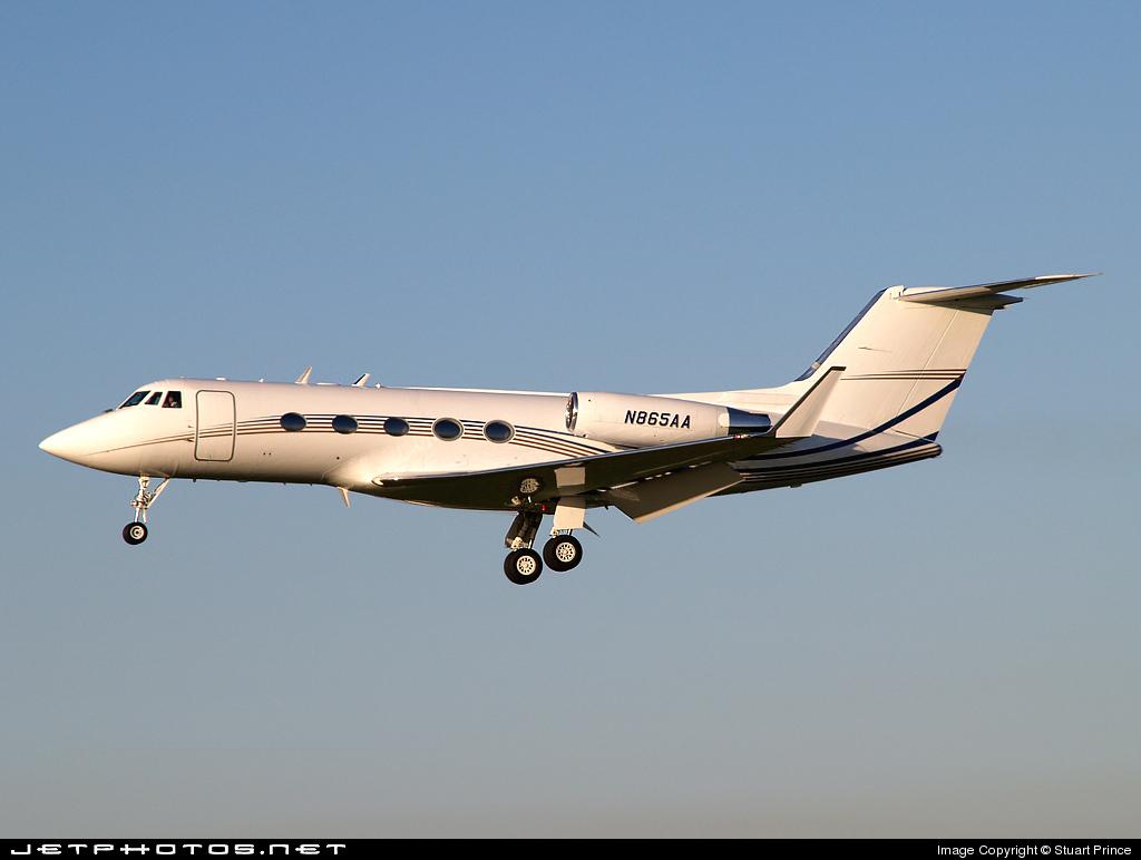 N865AA - Gulfstream G-IIB - Private