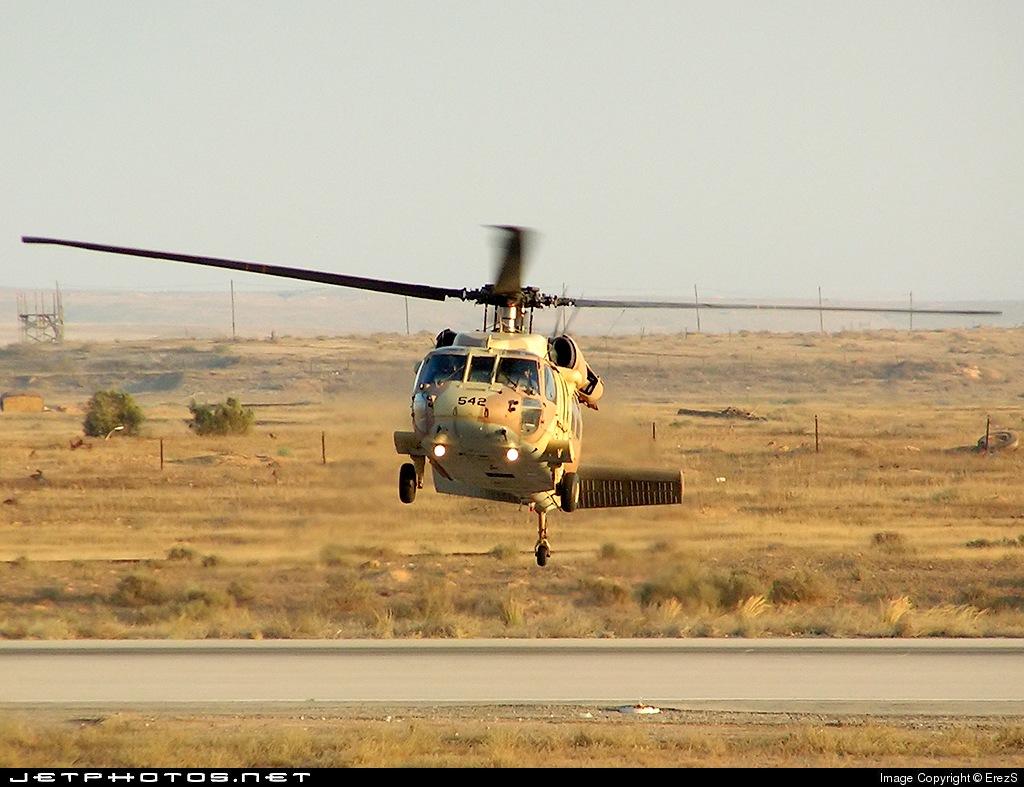 542 - Sikorsky UH-60 Blackhawk - Israel - Air Force