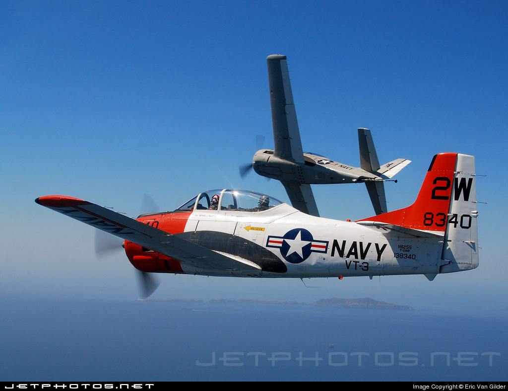 N6255 - North American T-28B Trojan - Private