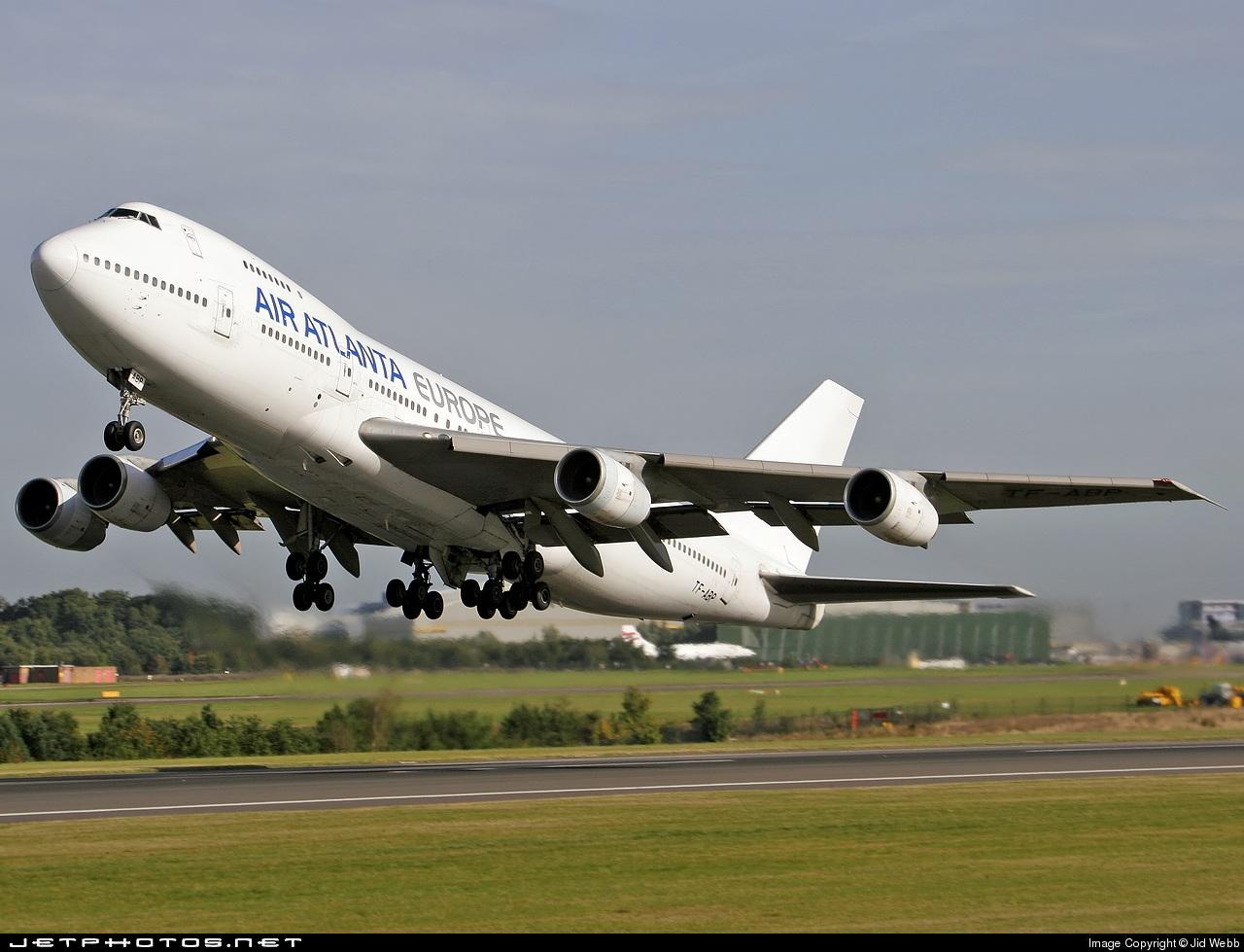 TF-ABP - Boeing 747-267B - Air Atlanta Europe