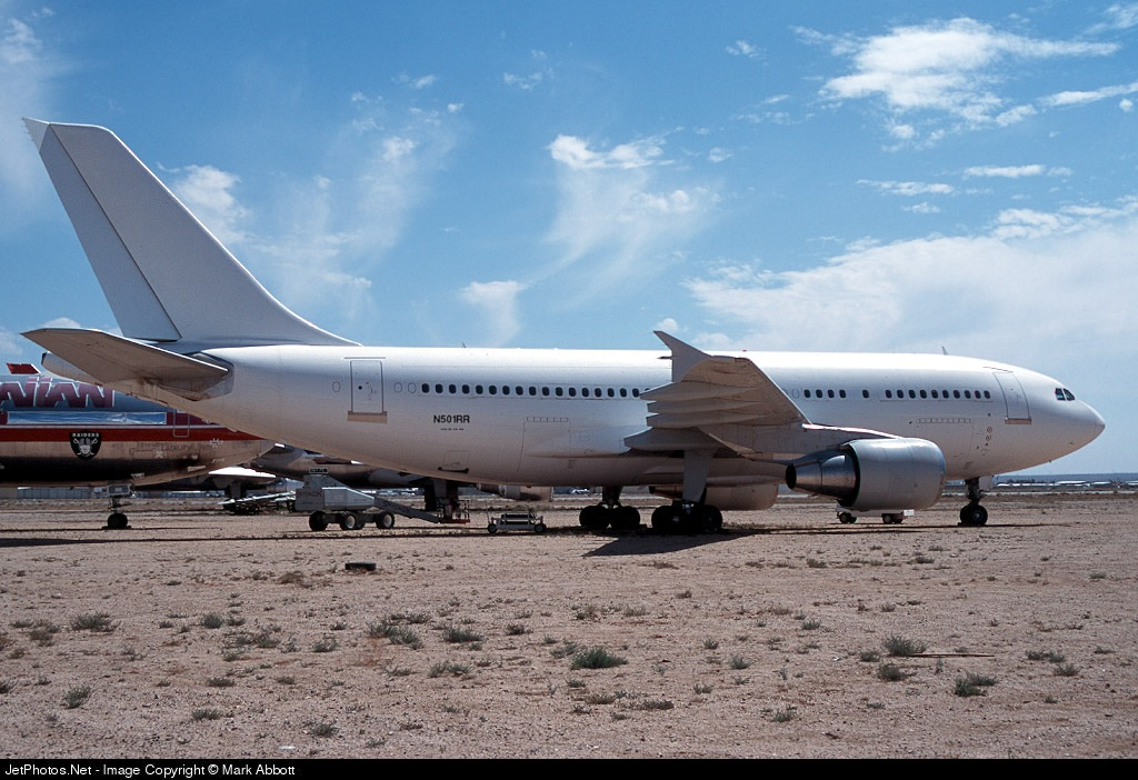 N501RR - Airbus A310-324 - Private