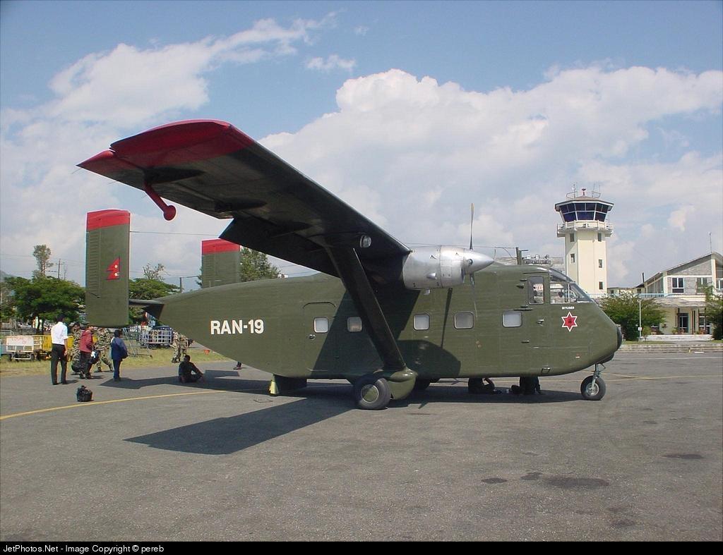 RAN-19 - Short SC-7 Skyvan - Nepal - Army
