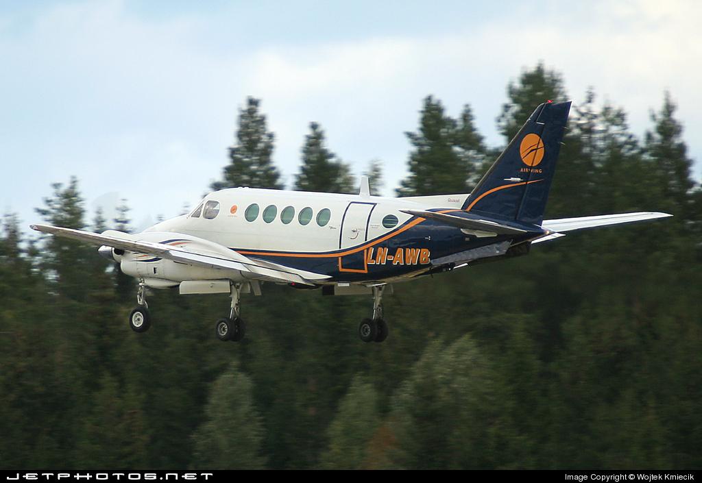 LN-AWB - Beechcraft A100 King Air - Airwing