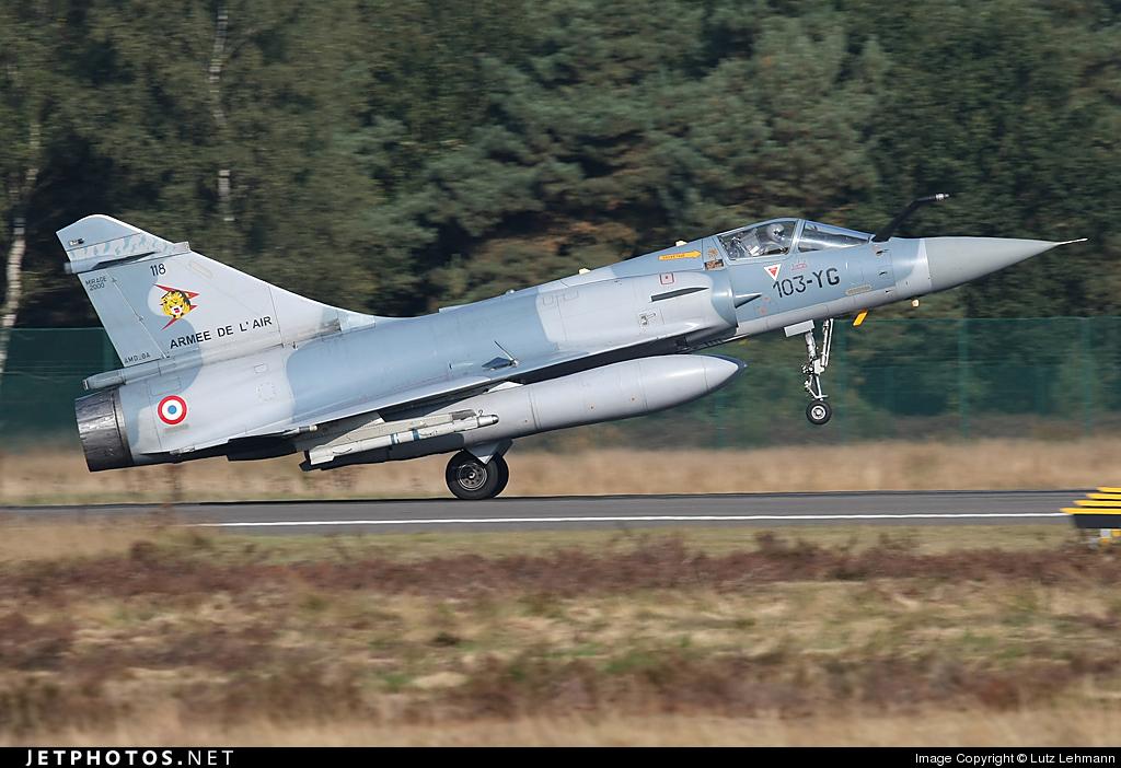 118 - Dassault Mirage 2000C - France - Air Force