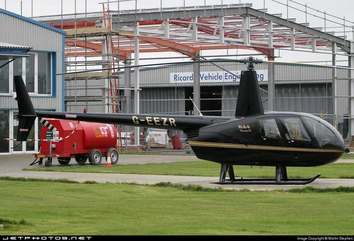 G-EEZR - Robinson R44 Raven II - Private