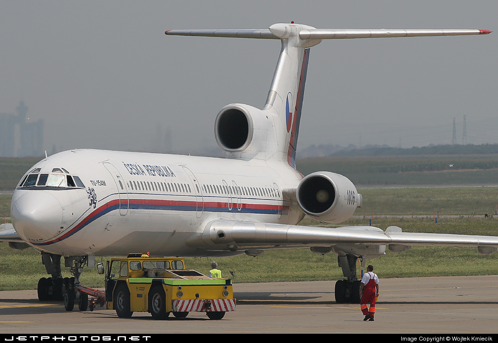 1016 - Tupolev Tu-154M - Czech Republic - Air Force