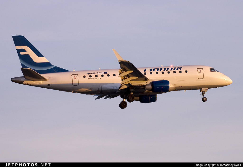OH-LEN - Embraer 170-100STD - Finnair