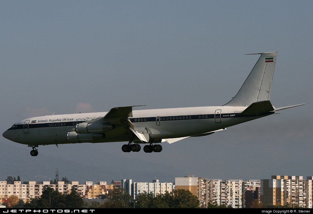 1001 - Boeing 707-386C - Iran - Air Force