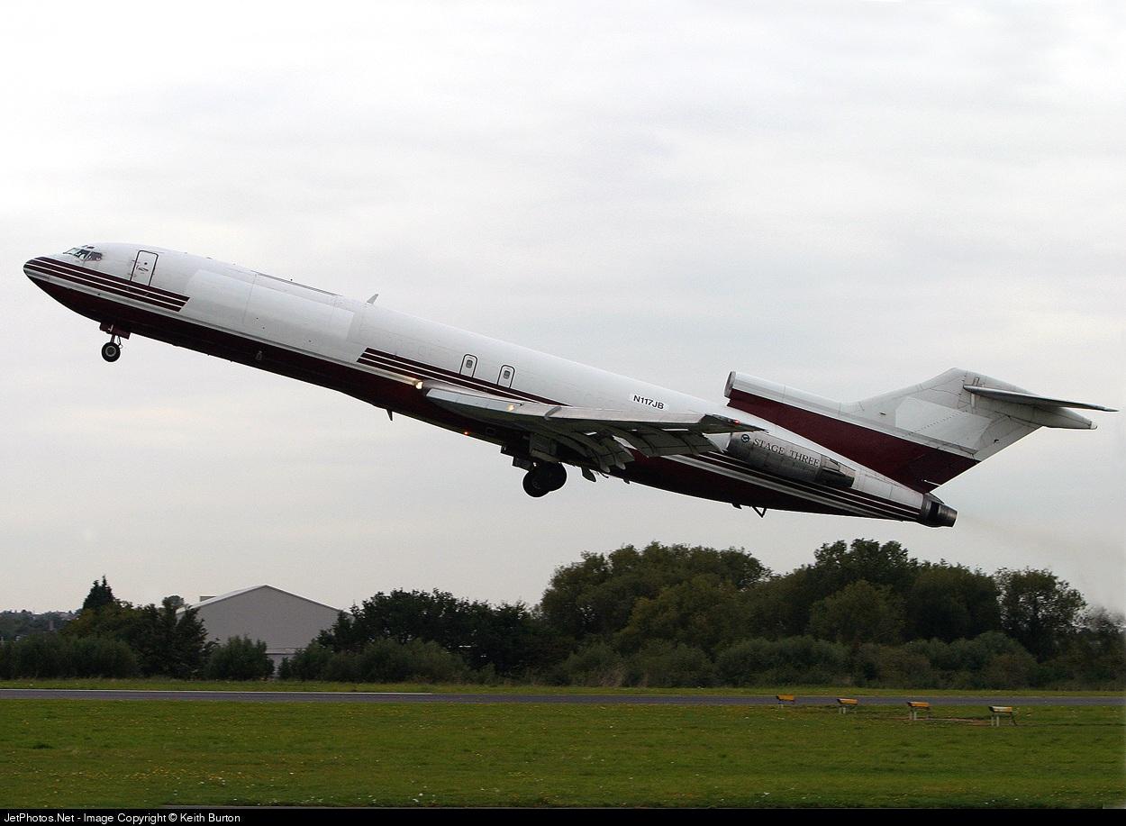 N117JB - Boeing 727-223(Adv)(F) - Tri-MG Intra Asia Airlines
