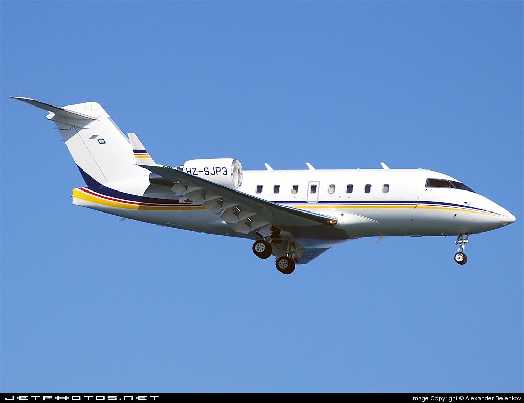 HZ-SJP3 - Bombardier CL-600-2B16 Challenger 604 - Joannou & Paraskevaides