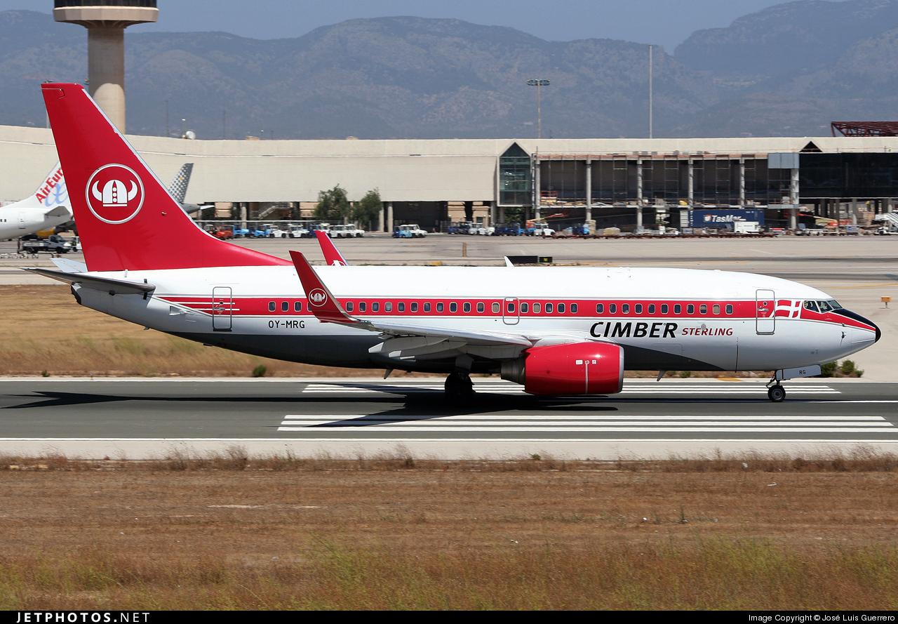 OY-MRG - Boeing 737-7L9 - Cimber Sterling Airlines