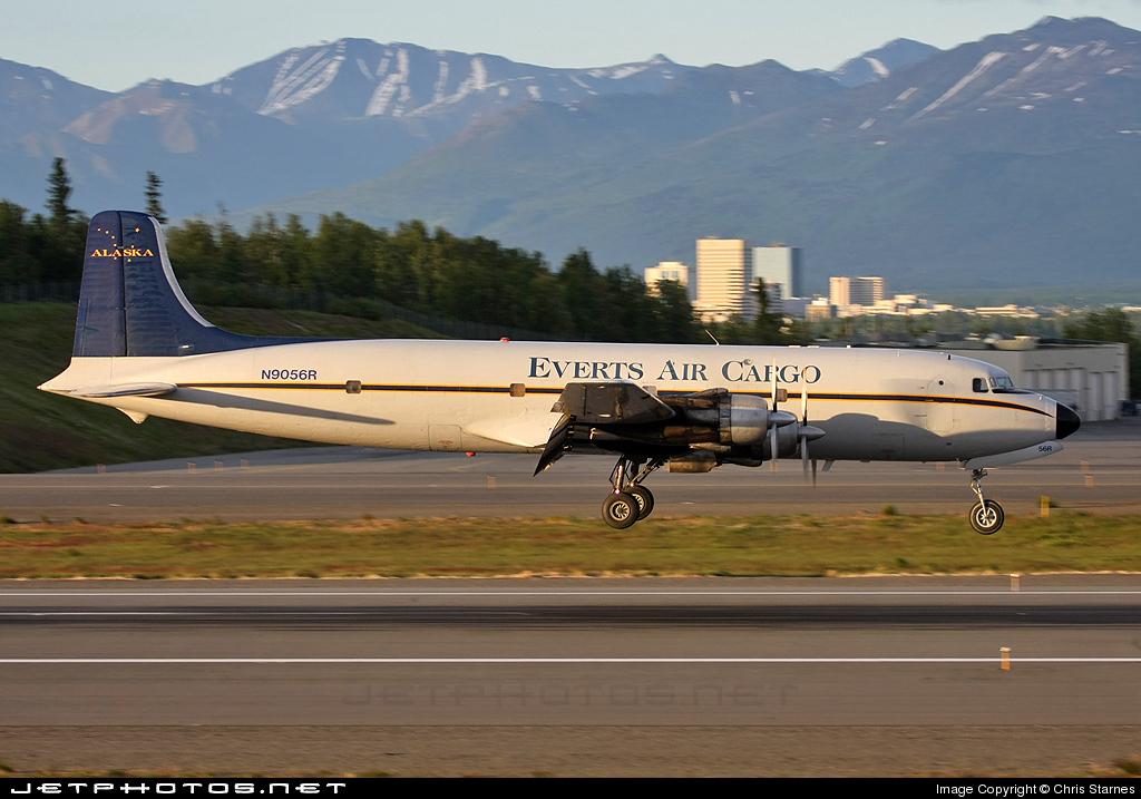 N9056R - Douglas DC-6A Liftmaster - Everts Air Cargo