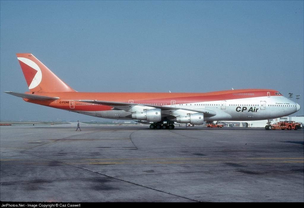 C-FCRD - Boeing 747-217B - CP Air