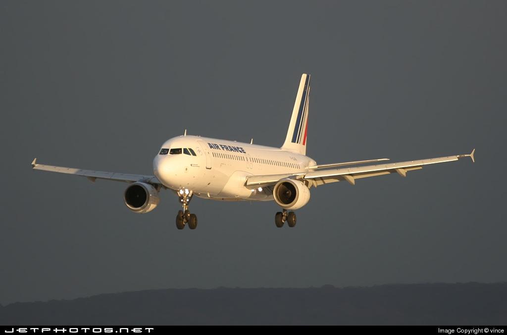F-GJVA - Airbus A320-211 - Air France