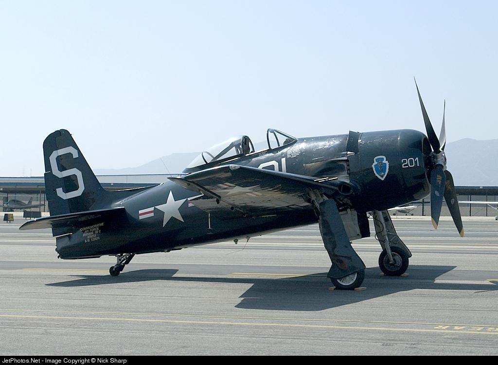 N7825C - Grumman F8F-2 Bearcat - Commemorative Air Force