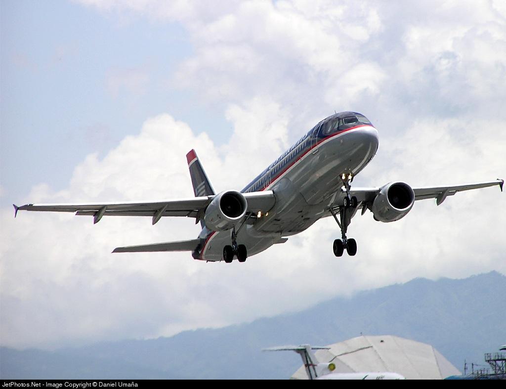 N105UW - Airbus A320-214 - US Airways