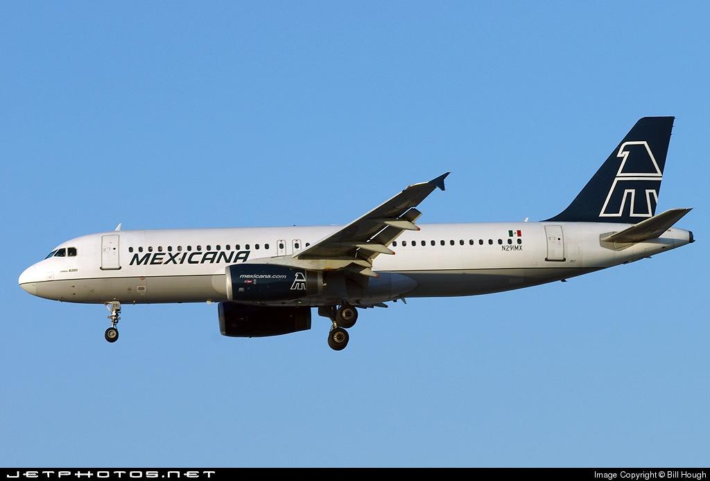 N291MX - Airbus A320-231 - Mexicana