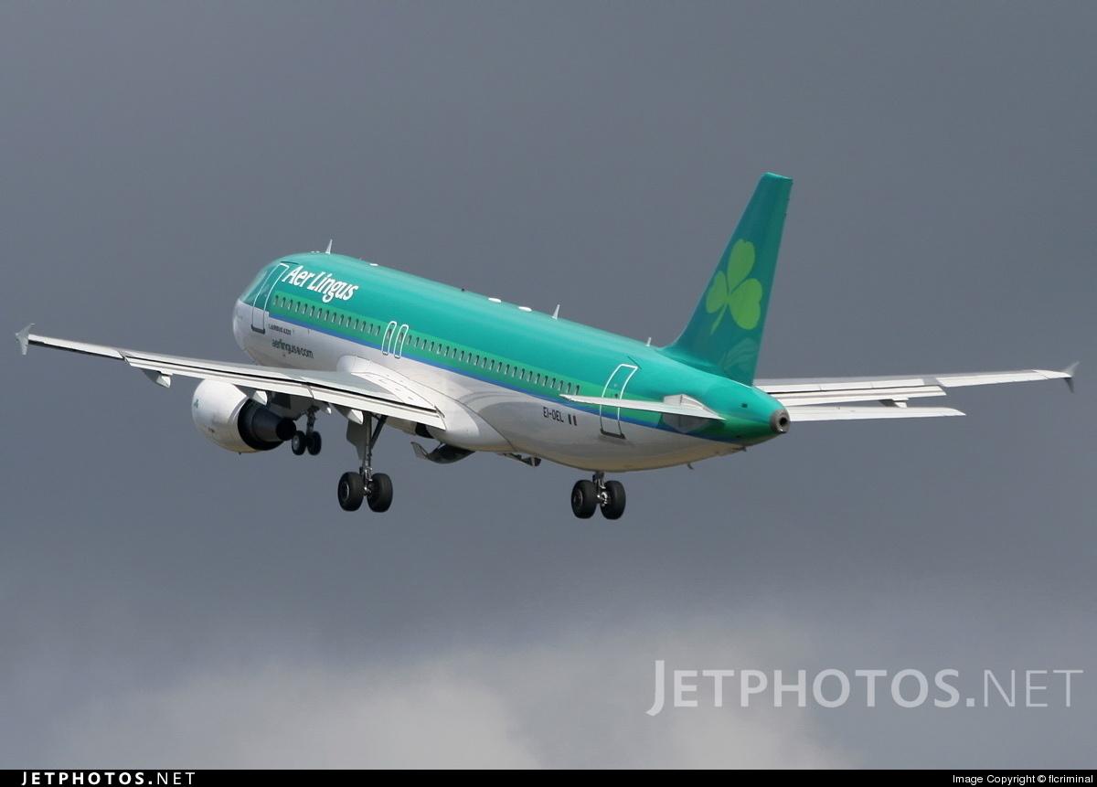 EI-DEL - Airbus A320-214 - Aer Lingus