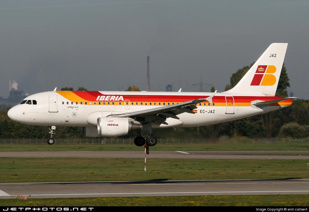 EC-JAZ - Airbus A319-111 - Iberia