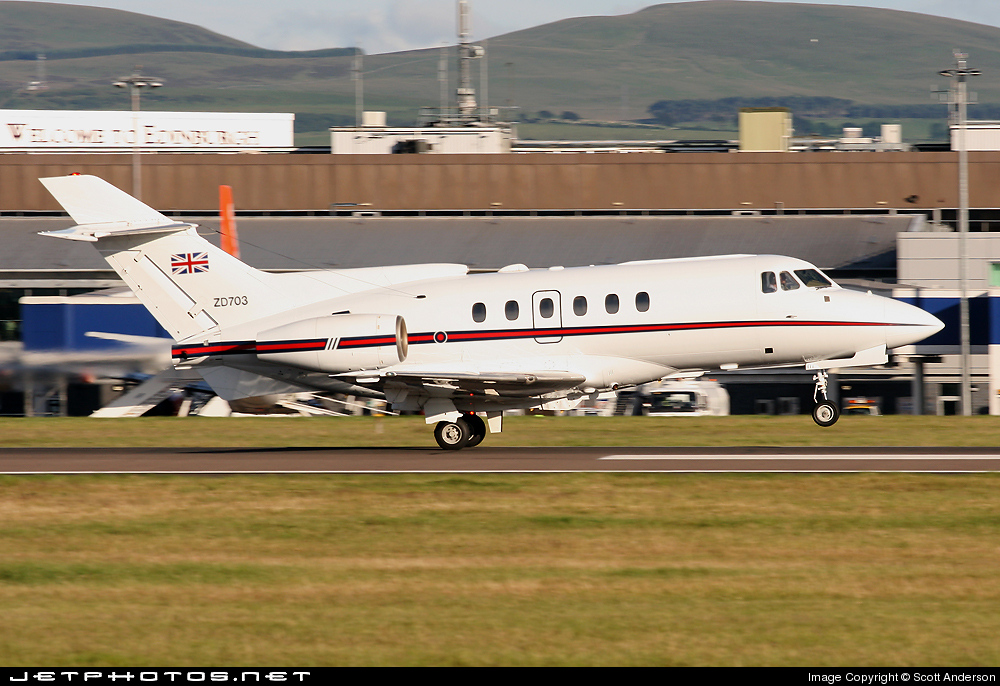 ZD703 - British Aerospace BAe 125 CC.3 - United Kingdom - Royal Air Force (RAF)