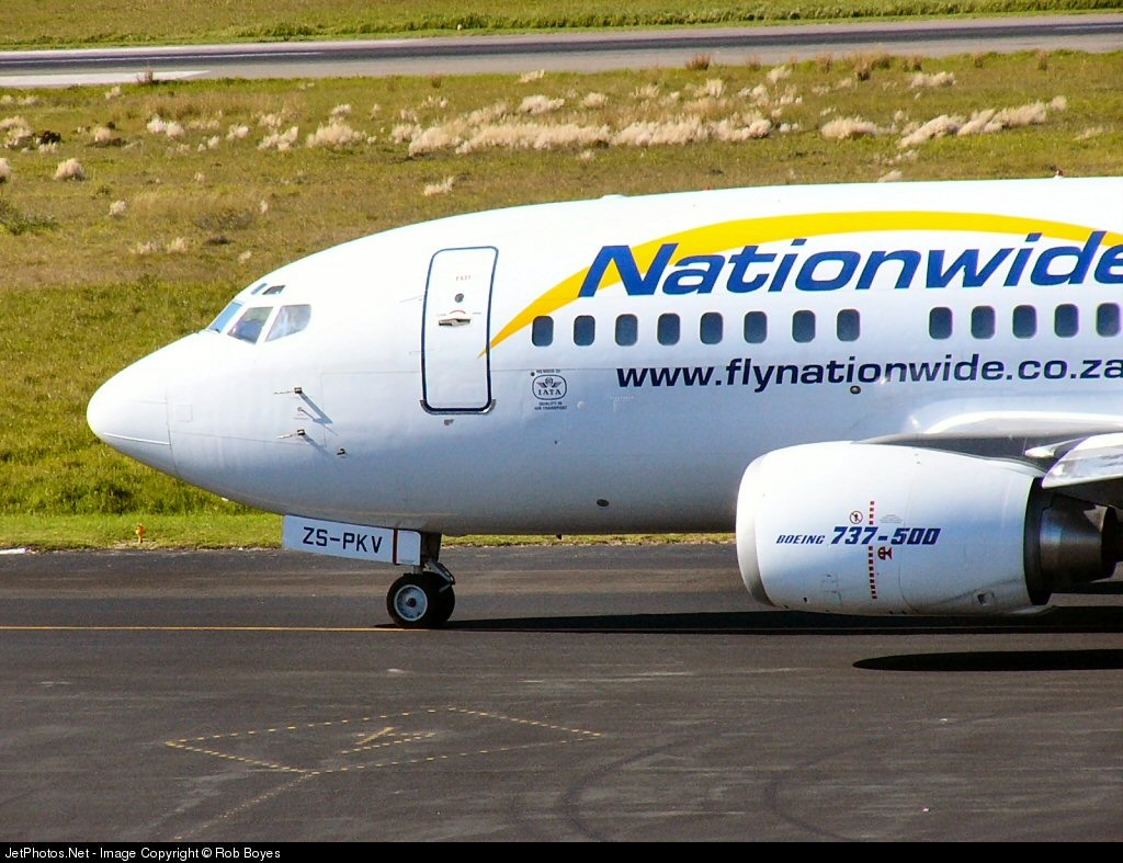 ZS-PKV - Boeing 737-529 - Nationwide Airlines