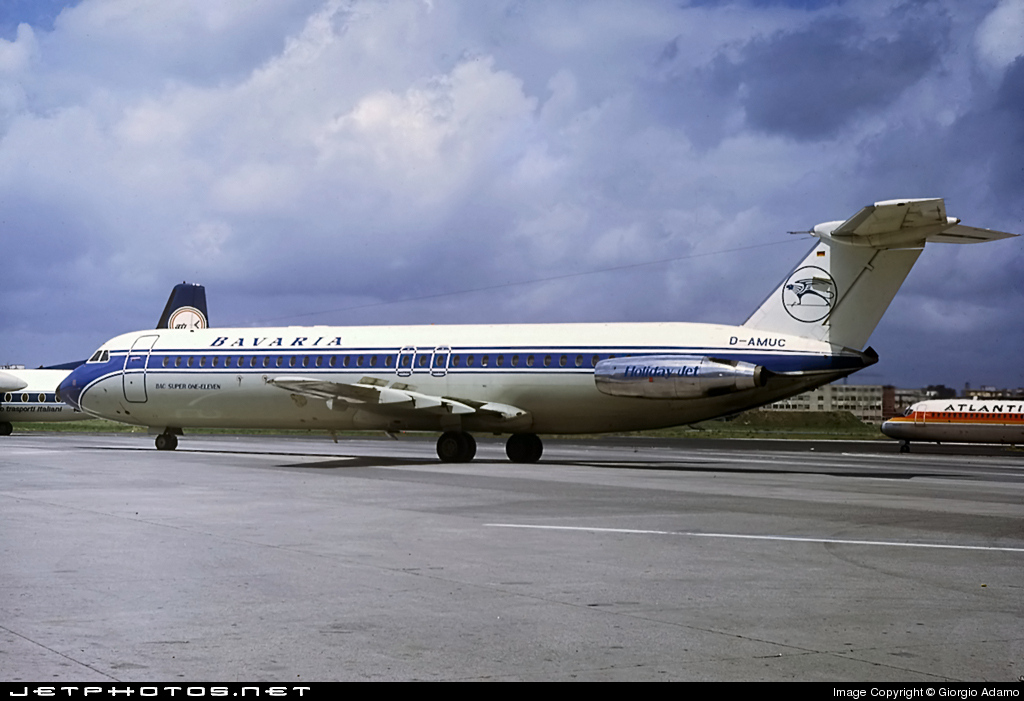 D-AMUC - British Aircraft Corporation BAC1-11-528FL - Bavaria