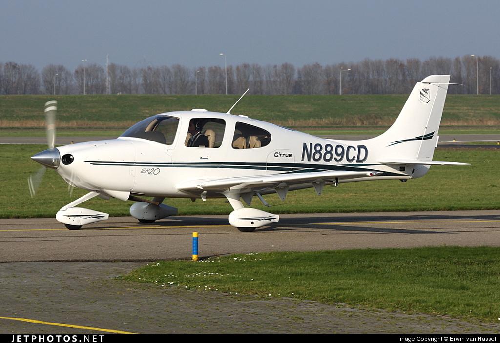 N889CD - Cirrus SR20 - Private
