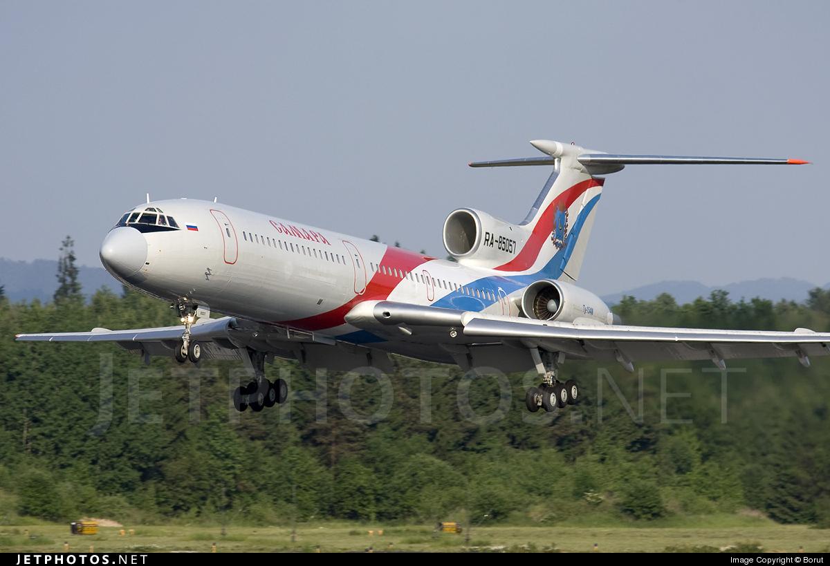 RA-85057 - Tupolev Tu-154M - Samara Airlines
