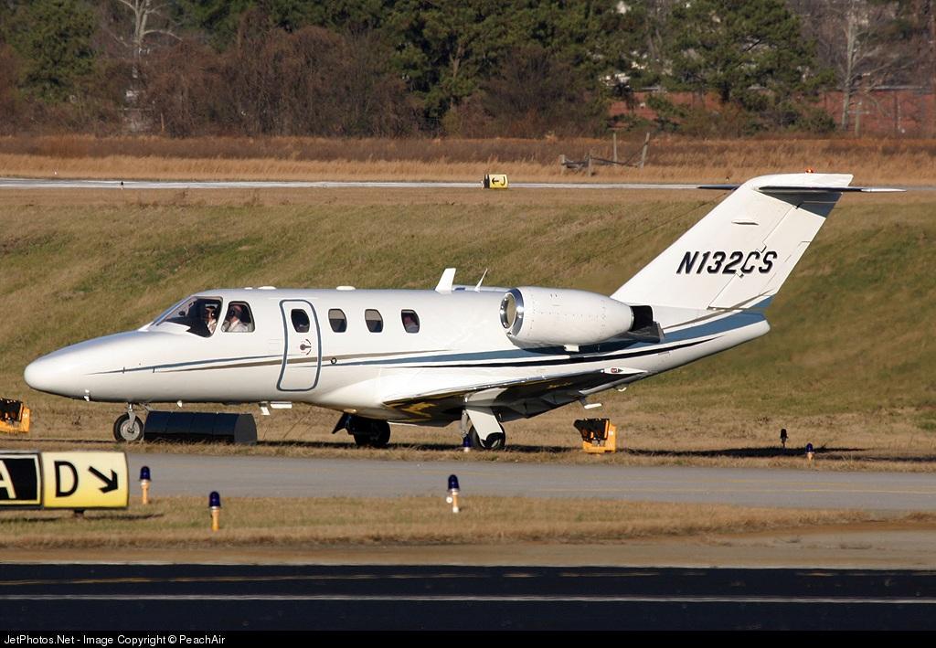 N132CS - Cessna 525 CitationJet 1 - Private