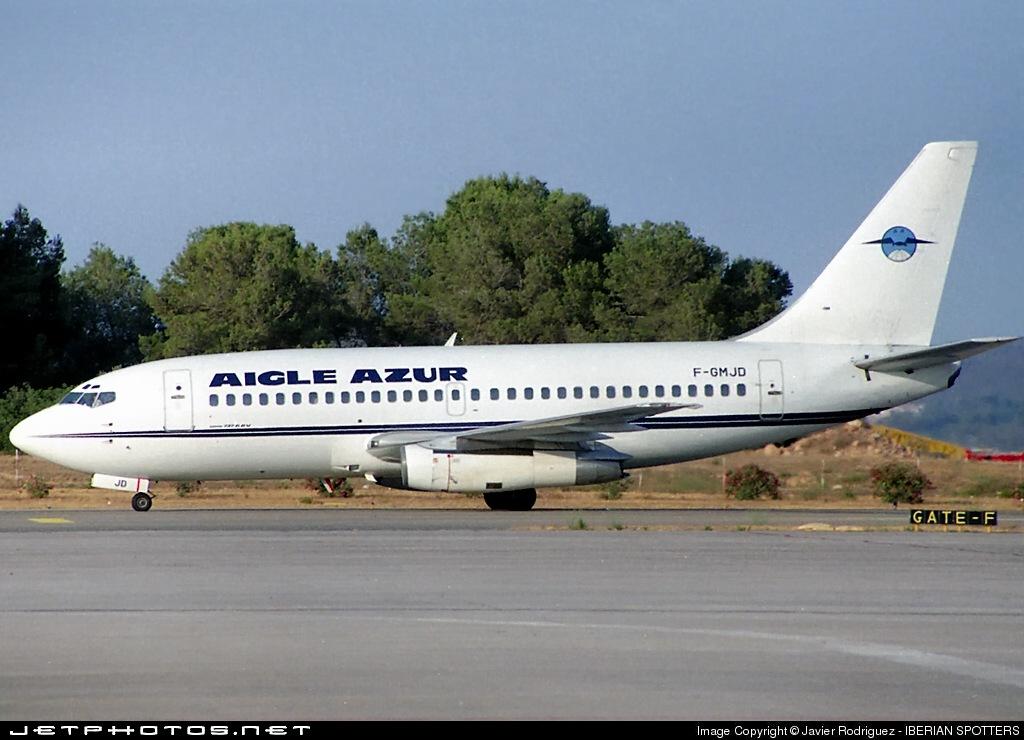 F-GMJD - Boeing 737-2K5(Adv) - Aigle Azur